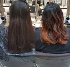 balayage at hairven hairdressing salons in nottingham