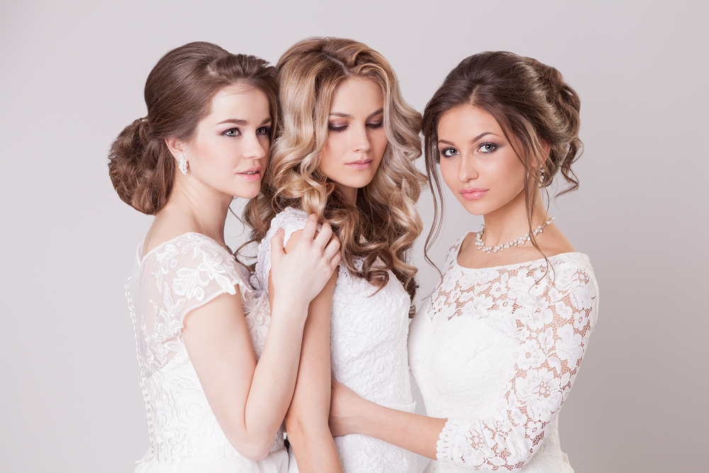 wedding hair & make up at Hairven hair salons in Gedling and Beeston, Nottingham