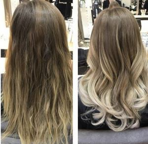 blonde balayage, hairven hairdressers, beeston