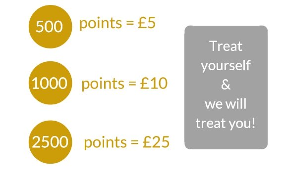 refer a friend to hairven hair & beauty salons in Gedling and Beeston in Nottinghamshire