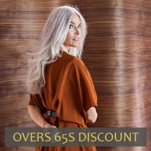 over 65's discount at Hairven hair salons in Gedling and Beeston