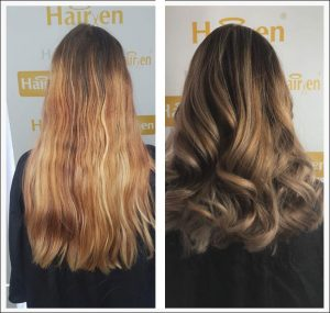 hair colour corrction services in beeston at hairven hair salons