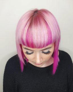 Fun & Playful Pink Hair Colours