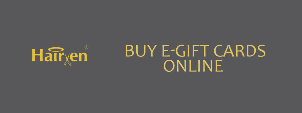 Buy e Gift Cards Online banner hairven