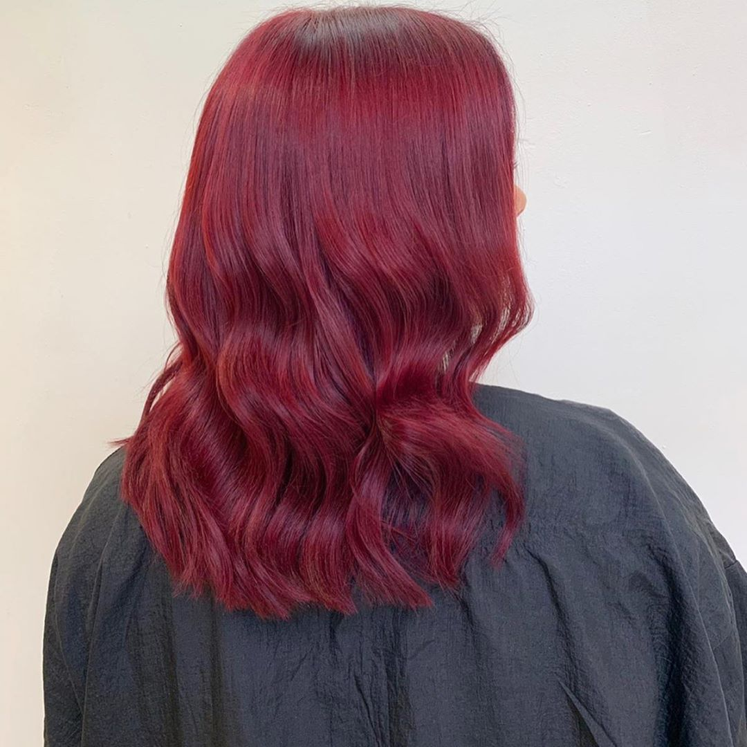 beautiful hair colour at Hairven hair & beauty salons in Nottingham
